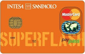 carta super flash intesa san paolo
