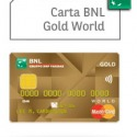 Carta BNL Gold