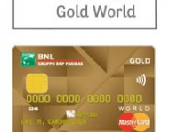Carta BNL Gold World