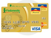 Carta Aura Gold Findomestic